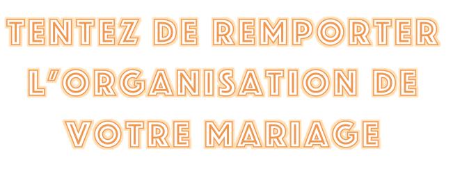 Jeu Concours Salon Du Mariage 2020